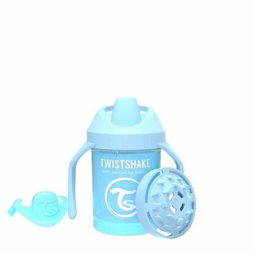 Taza con Asas 230 Ml +4 Meses Azul Pastel