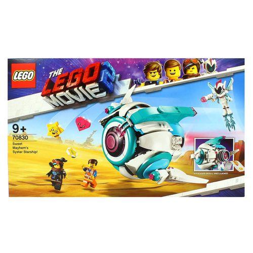 Lego la Película 2 Nave Systar de Dulce Caos