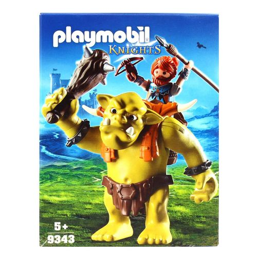 Playmobil Knights Trol Gigante con Mochila Gnomo