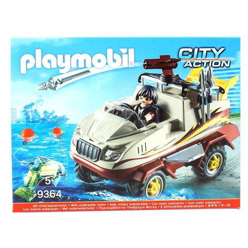 Playmobil City Action Coche Anfibio