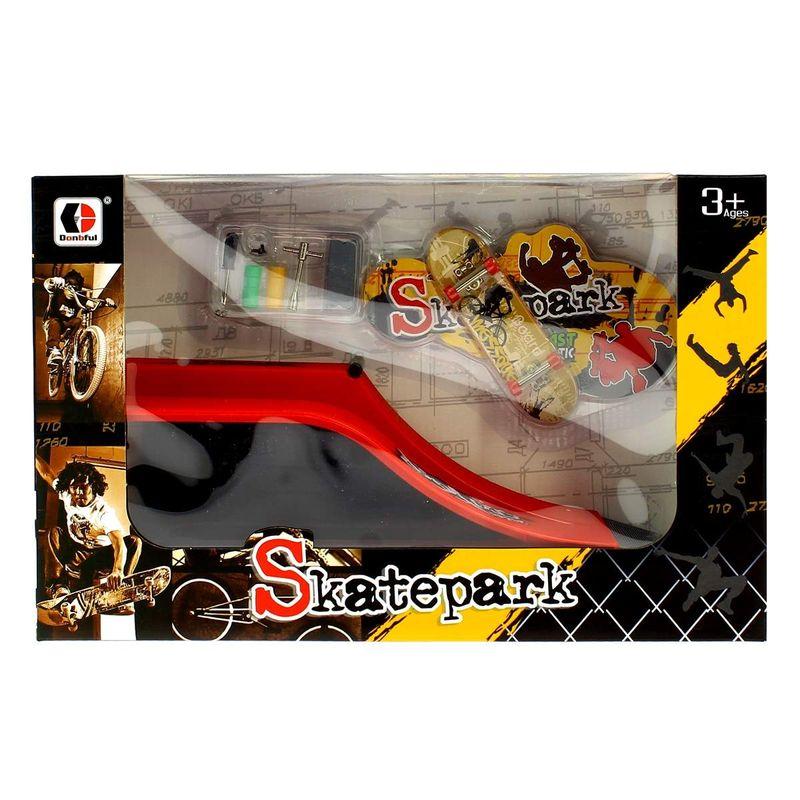 Skate-Park-Pequeño-Rampa-Bang-Board