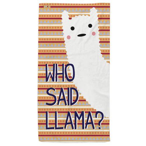 Toalla Who Said Llama?