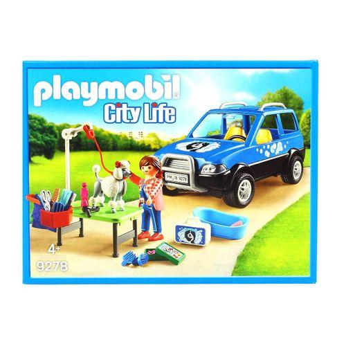Playmobil City Life Coche Lavandería de Perros