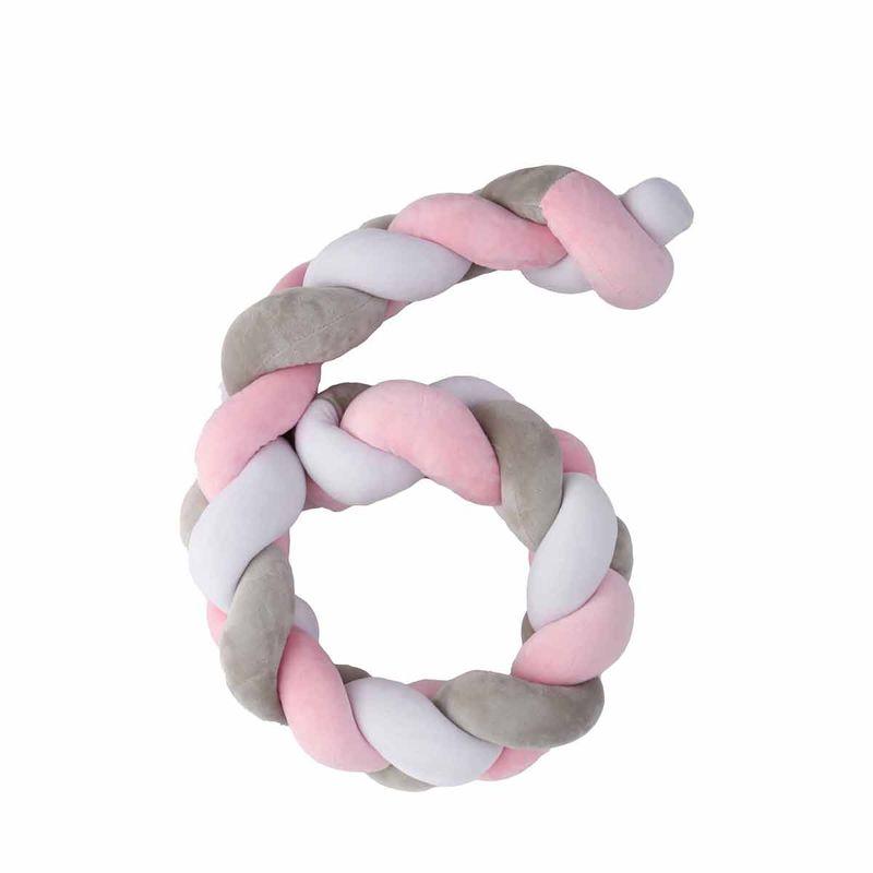 Trenza-cuna-Twist-200-cm-Rosa