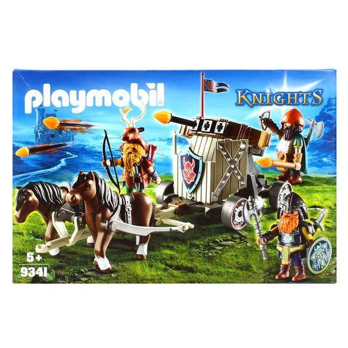 Playmobil Knights Carruaje Caballos con Ballesta