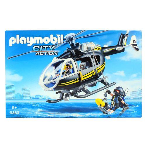 Playmobil City Action Helicóptero Fuerza Especial