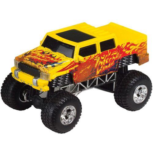 Vehículo 4x4 Amarillo