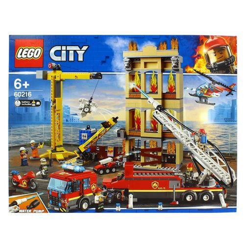 Lego City Brigada de Bomberos del Distrito Centro