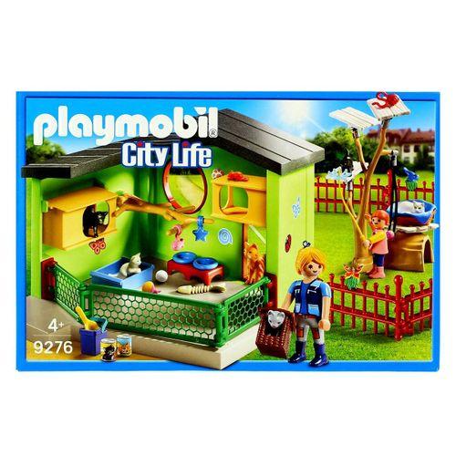 Playmobil City Life Refugio para Gatos