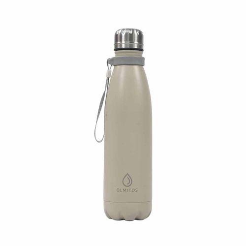 Botella Térmica Inoxidable 500 Ml Taupe
