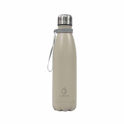 Botella Térmica Inoxidable 500 Ml Taupe
