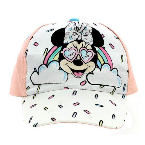 Minnie Mouse Gorra Arcoíris Rosa