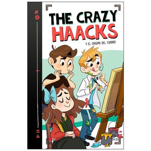 Libro Crazy Haacks y el Enigma del Cuadro