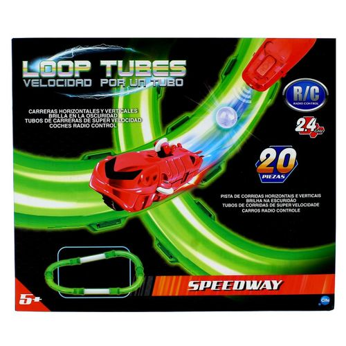 Loop Tubes Velocidad por un Tubo Pista Speedway