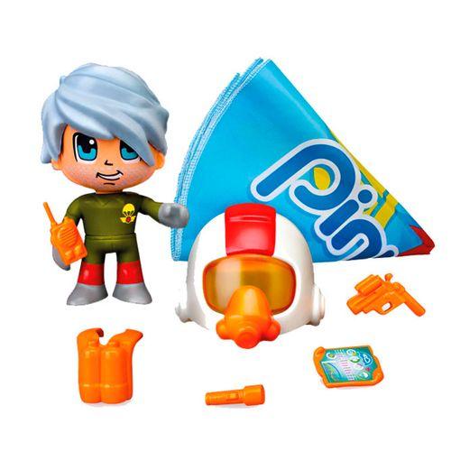 Pinypon Action Figura con Paracaídas