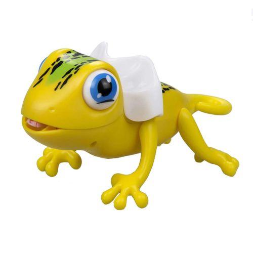 Robot Gloopies Camaleón Amarillo
