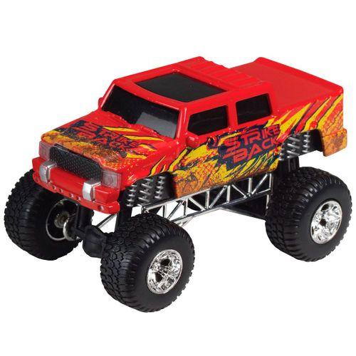 Vehículo 4x4 Rojo