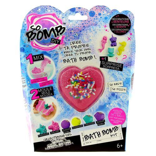 Kit Bomba de Baño Corazón Rosa