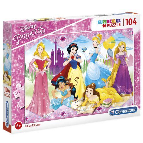 Princesas Disney Puzzle 104 Piezas
