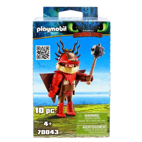 Playmobil Dragons 3 Patán Mocoso con Traje Volador