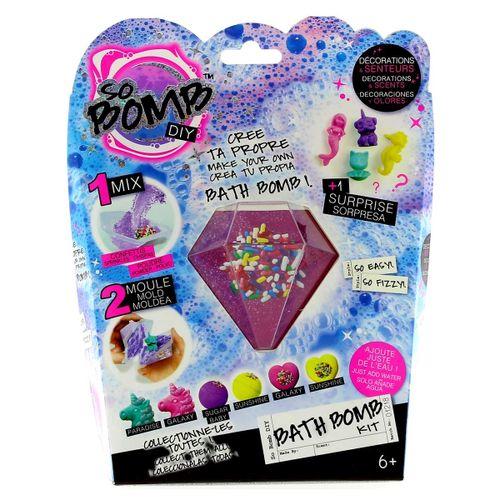 Kit Bomba de Baño Diamante Rosa