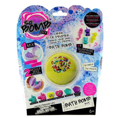 Kit Bomba de Baño Bola Amarilla