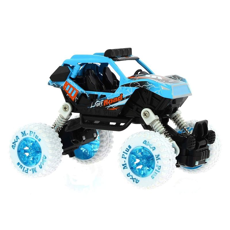 Coche-BigFoot-1-32-Azul