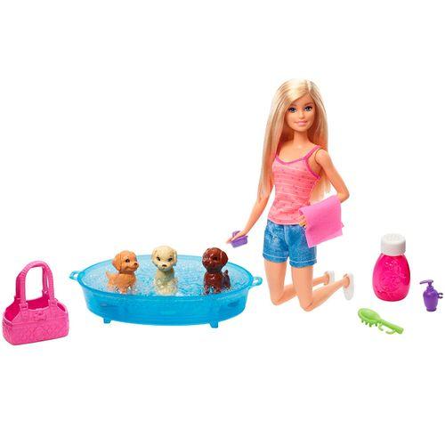 Barbie y sus Cachorritos