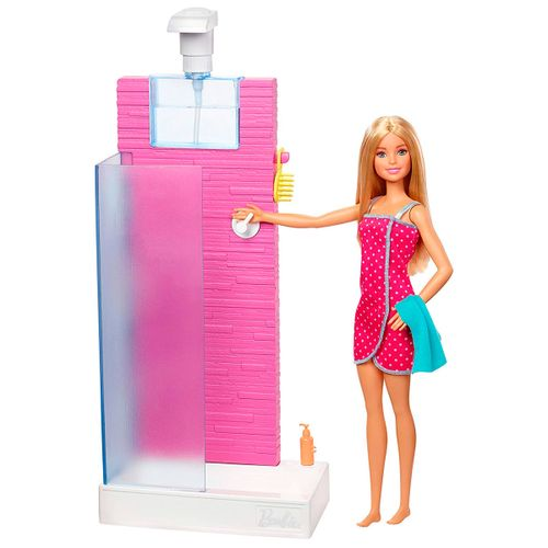 Barbie Set de Muebles Ducha