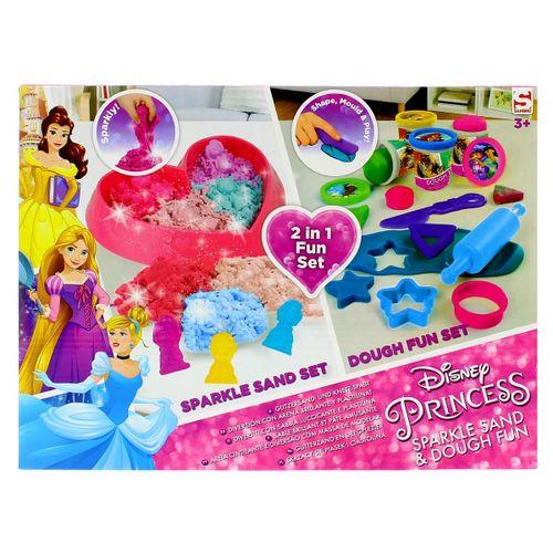 Princesas Disney Pack Arena Mágica y Plastilina