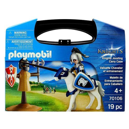 Playmobil Knights Maletín Entrenamiento Caballero