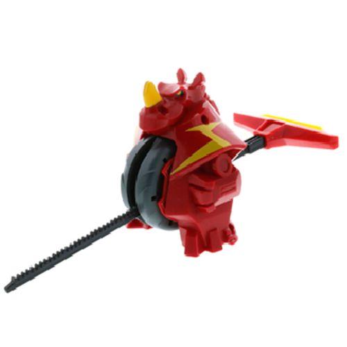 Exocrash Rinoceronte Rojo Fuego