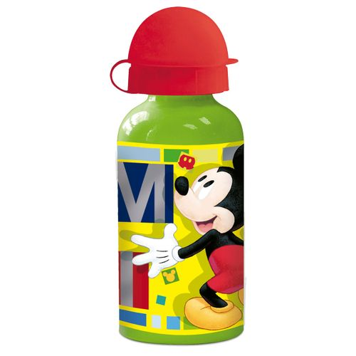 Botella de Aluminio 400 Ml New Mickey Mouse