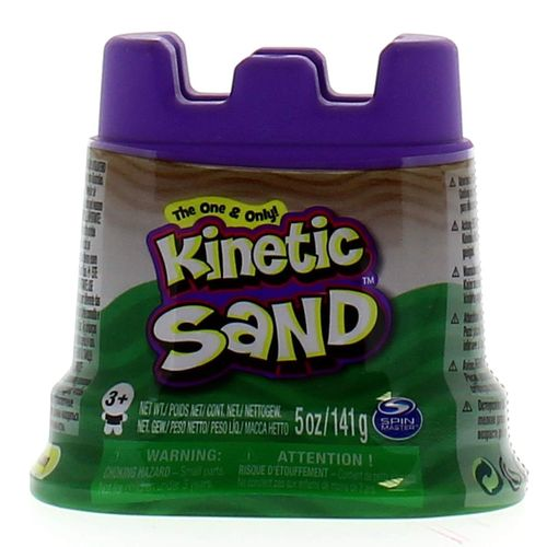 Kinetic Sand Contenedor Verde 140 gr