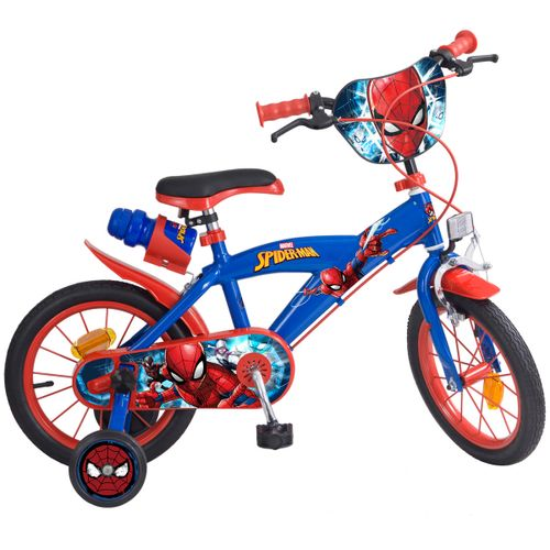 "Spiderman Bicicleta Infantil 14"""