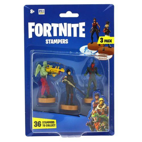 Fortnite Blíster 3 Estampadores Flytrap
