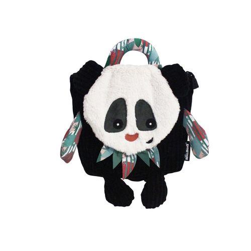 Mochila de guarderia oso panda