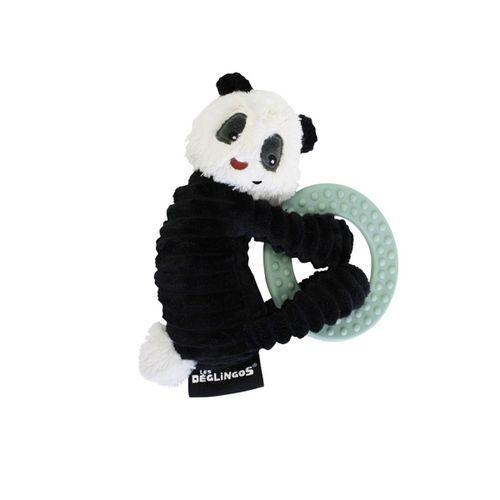 Mordedor con anillo oso panda Rototo