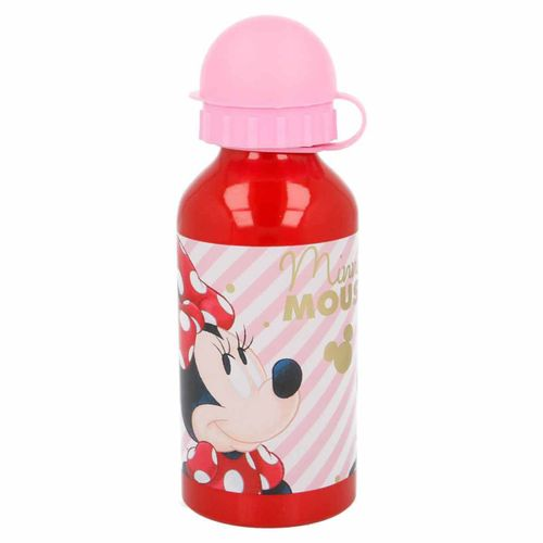 Botella de Aluminio 400 Ml New Minnie Mouse