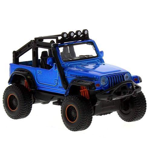 Coche Miniatura Fresh Metal  4x4 Jeep Azul