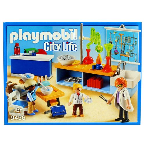 Playmobil City Life Clase de Química
