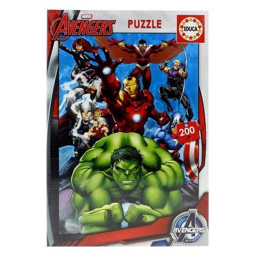 Los Vengadores Puzzle 200 Piezas