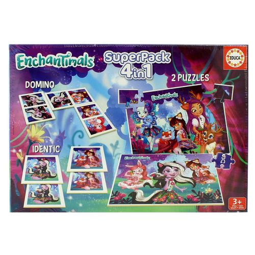 Enchantimals Superpack 4 en 1
