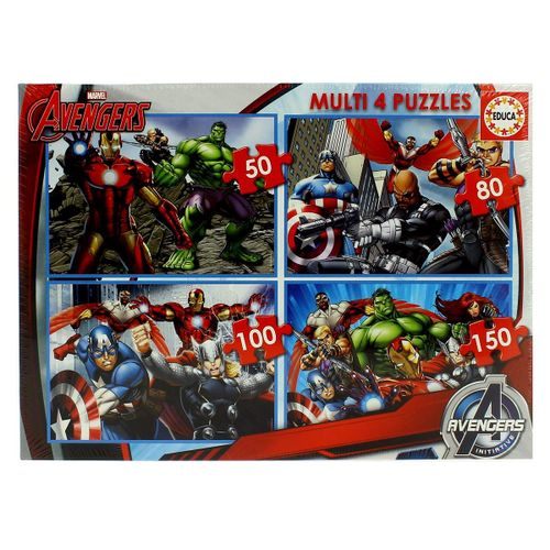 Avengers Multi Puzzles