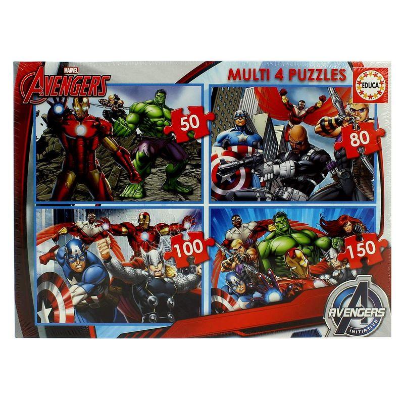 Avengers-Multi-Puzzles