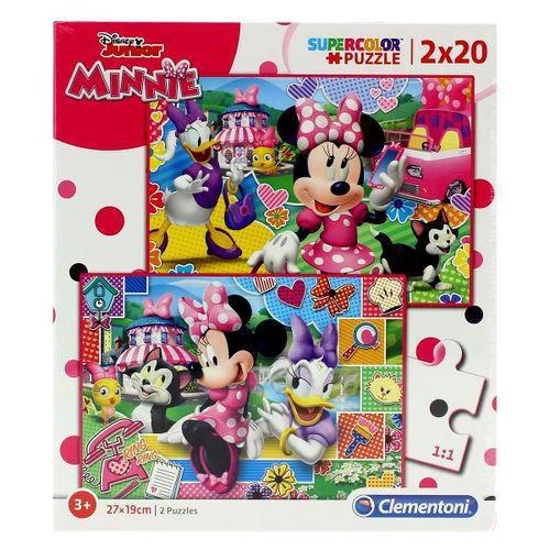 Minnie Mouse Puzzle Happy 2x20 Piezas
