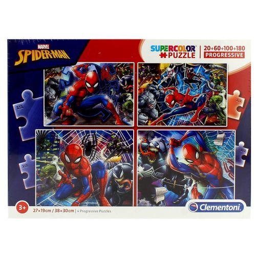 Spiderman Puzzle Progresivo