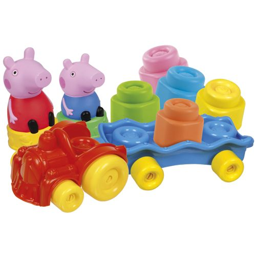 Peppa Pig Clemmy Baby Tren Bloques