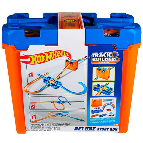 Hot Wheels Track Builder Caja de Acrobacias Deluxe