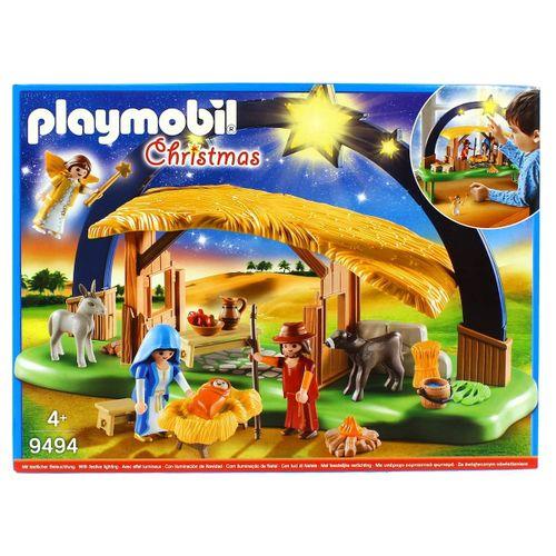 Playmobil Christmas Belén con Luz